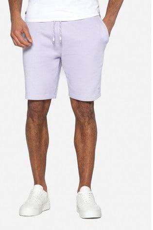 Threadbare Purple Bergamot Sweat Shorts