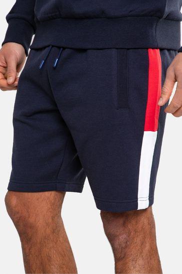 Threadbare Navy Frood Sweat Shorts