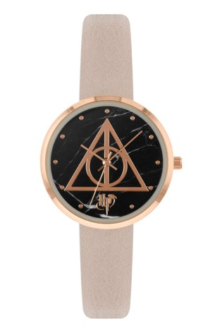 Warner Brothers Pink Harry Potter PU Strap Dial Watch