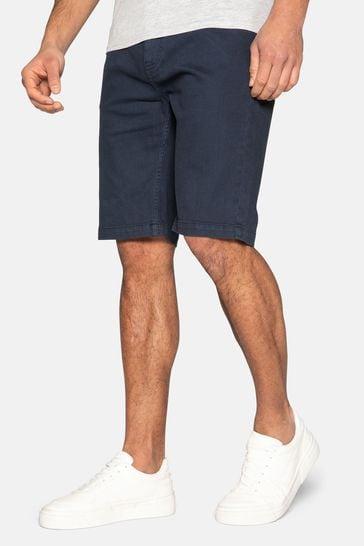 Threadbare Navy Pryde Cotton Chino Shorts