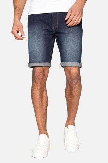 Threadbare Blue Bossa Denim Shorts