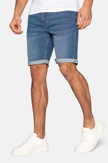 Threadbare Light Blue Bossa Denim Shorts
