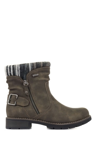 Pavers Ladies Water Resistant Ankle Boots