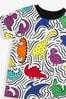 Rainbow Dino All Over Printed T-Shirt (3mths-7yrs)