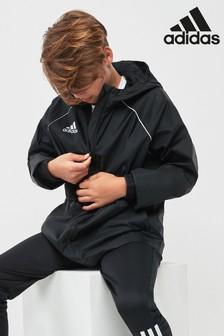 adidas Core 18 Rain Jacket Blue   adidas Australia