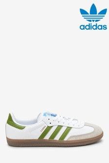 Adidas Originals Samba Trainers White
