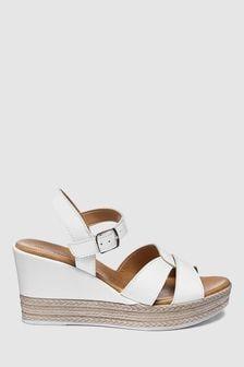 allshoesboots Footwear Women Wedge Wedge Brown Brown Sandals