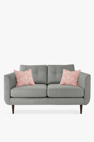 Orla Kiely Linden Small Sofa with Walnut Feet