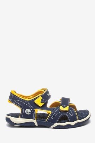 Timberland® Navy/Yellow Adventure Seeker 2 Strap Sandal