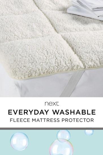 Super Soft Fleece Mattress Topper