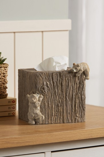 Barnaby The Bear Tissue Box Cover
