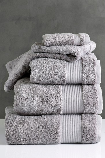 Dove Grey Egyptian Cotton Towels