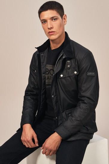 Barbour® International Duke Slim Fit Wax Jacket