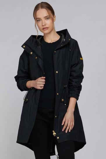 Barbour® International Showerproof Longline Hooded Suzuka Jacket