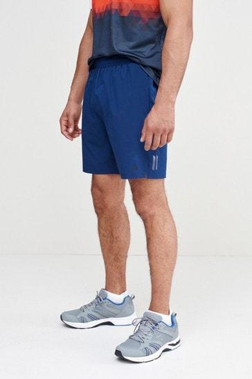 Blue Next Active Gym & Running Shorts