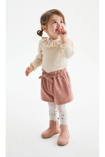 Pink Shorts & Tight Set (3mths-7yrs)