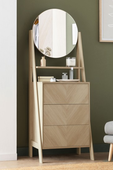 Anderson Oak Effect Standing Dressing Table