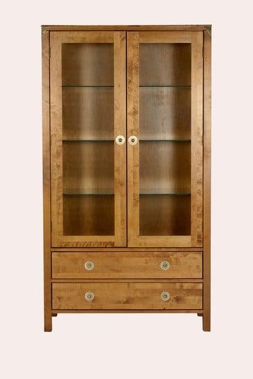 Balmoral Honey 2 Door 2 Drawer Display Unit by Laura Ashley