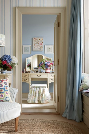 Clifton Ivory Dressing Table Mirror by Laura Ashley
