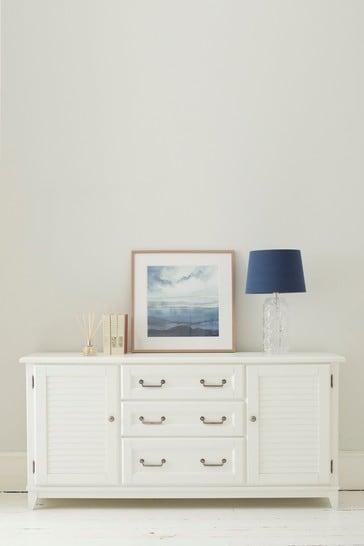 Devon White 2 Door 3 Drawer Sideboard by Laura Ashley
