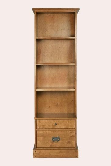 Garrat Honey 2 Drawer Single Bookcase by Laura Ashley