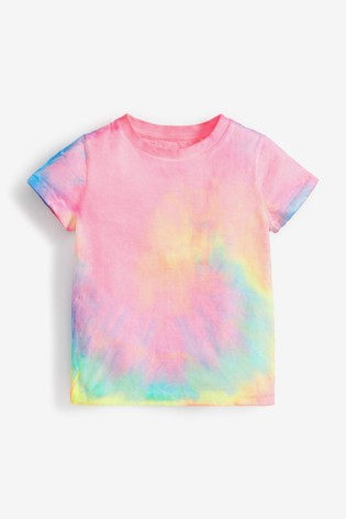 Bright Tie Dye All Over Printed T-Shirt (3mths-7yrs)