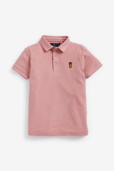 Pale Pink Polo Shirt (3-16yrs)