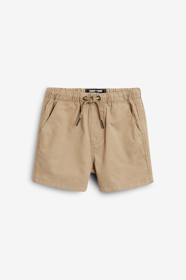 Tan Pull-On Shorts (3mths-7yrs)