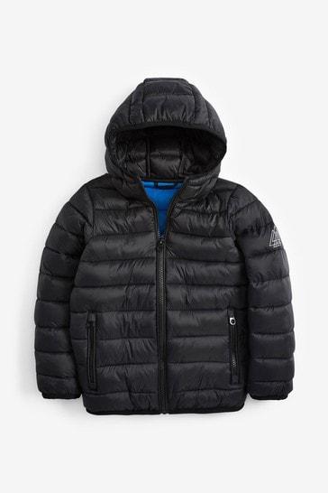 Black Puffer Jacket (3-16yrs)