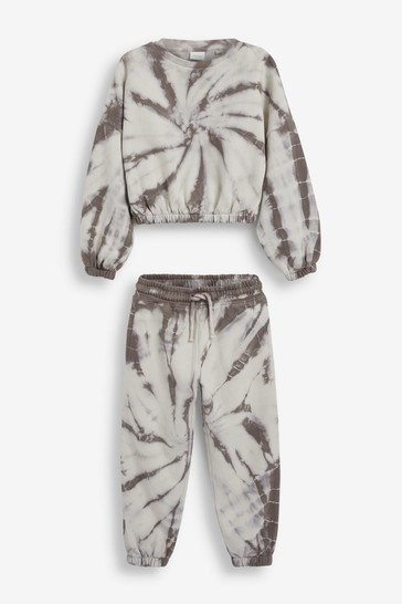 Tie Dye Crew And Joggers Set (3-16yrs)