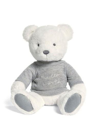 Hello World Teddy Bear By Mamas & Papas