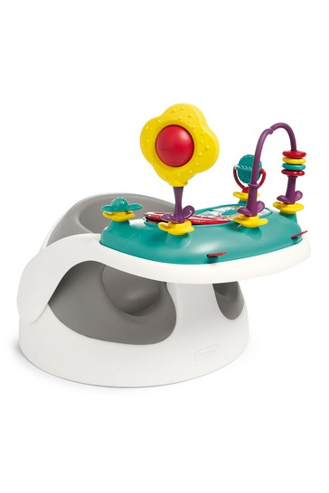 Grey Baby Bud with play tray By Mamas & Papas