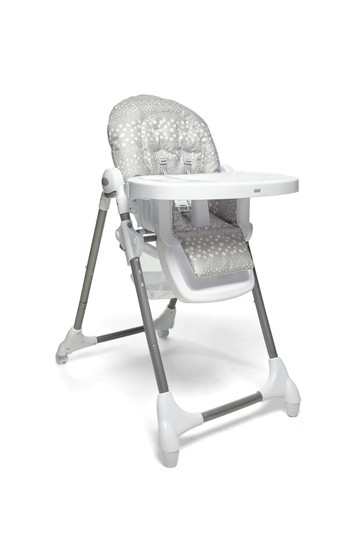 Spotty Grey Snax Highchair By Mamas & Papas