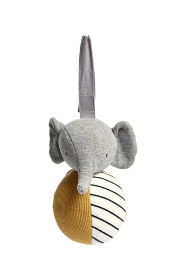Mamas & Papas Welcome to the World Eddie the Elephant Chime Ball