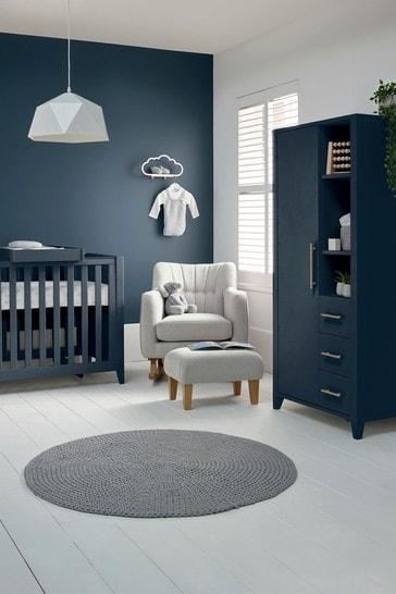 Mamas & Papas Melfi 2 Piece Cot Bed Set with Compact Storage Wardrobe
