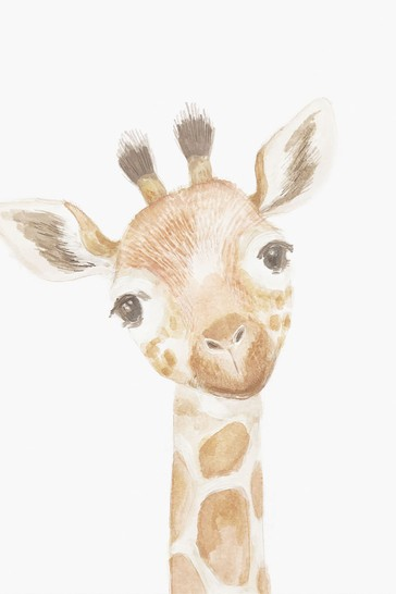 Mamas & Papas Welcome to the World Giraffe Picture