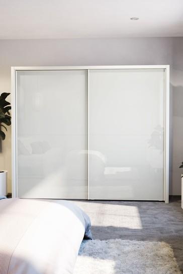 Peyton 2.6M Glass Sliding Wardrobe