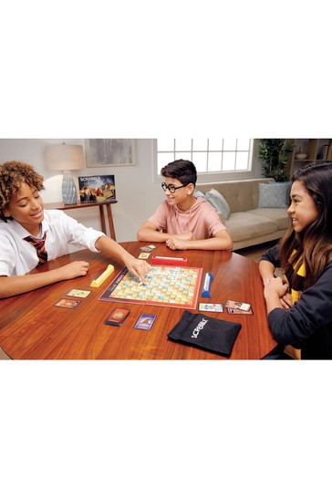 Scrabble Harry Potter Edition Board Game With Magical Cards