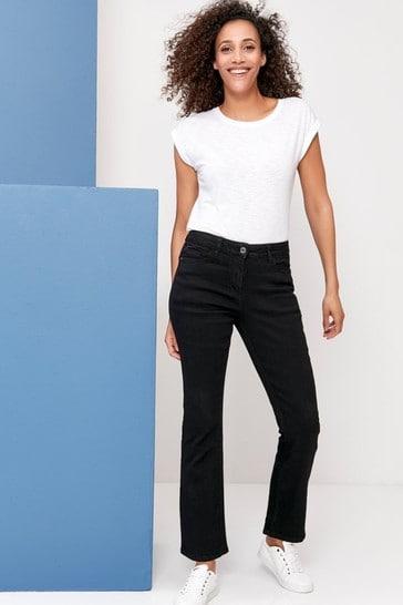 M&Co Black Bootcut Jeans