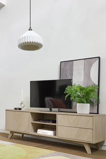 Anderson Oak Effect Wide TV Stand