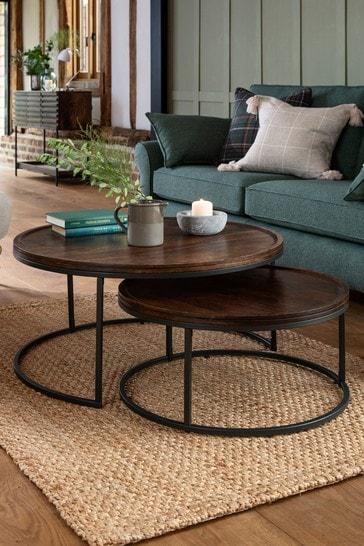 Elmir Coffee Nest Of 2 Tables