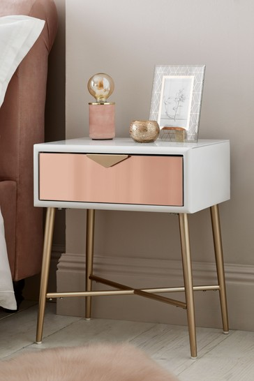 Lacey 1 Drawer Bedside table