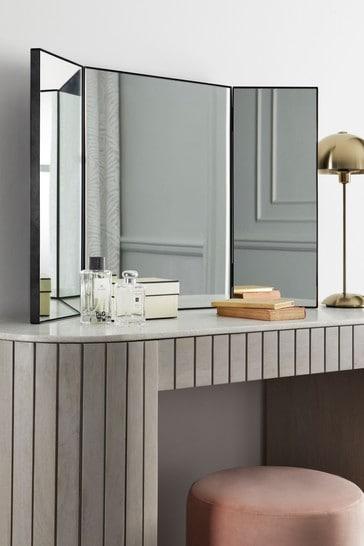 Black Dressing Table Mirror