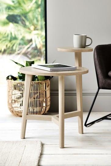 Anderson Oak Effect Side Table