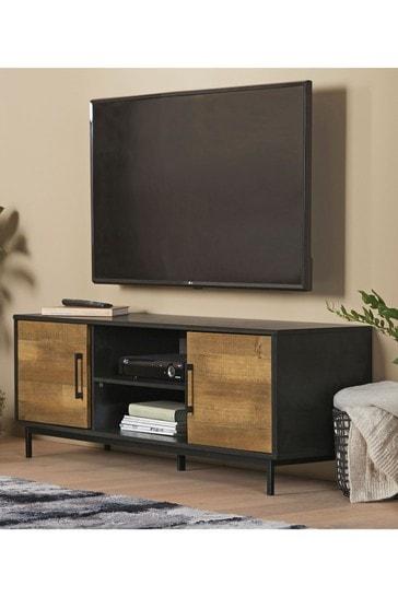 Jefferson Pine Wide TV Stand