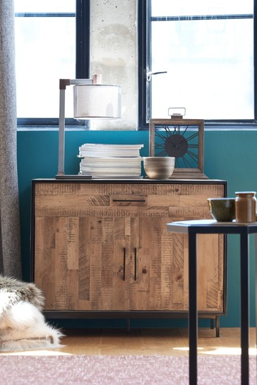 Jefferson Pine Small Sideboard with Drawer