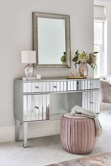 Rochelle Mirrored Storage Dressing Table