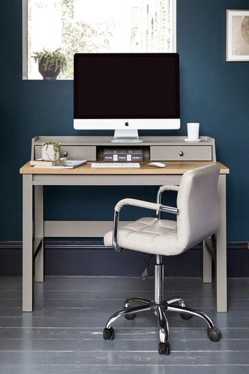 Malvern Dove Grey Desk