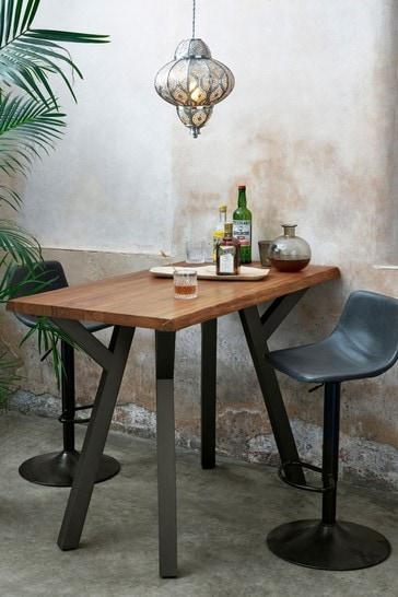 Amsterdam Acacia Wood Bar Table