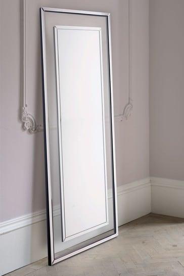 Laura Ashley Evie Large Rectangular Floor Mirror